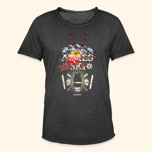 Apres Ski T Shirt  Team Whisky - Männer Vintage T-Shirt