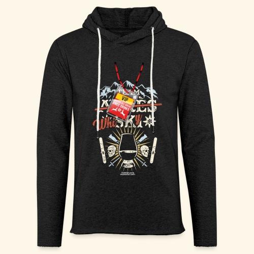 Apres Ski T Shirt  Team Whisky - Leichtes Kapuzensweatshirt Unisex