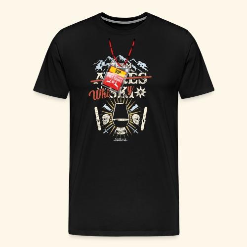 Apres Ski T Shirt  Team Whisky - Männer Premium T-Shirt