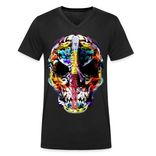 El dia de los Muertos by MizAl TC - T-shirt bio col V Stanley & Stella Homme