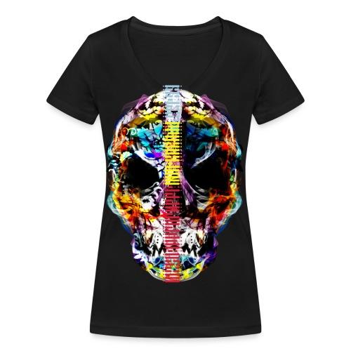 El dia de los Muertos by MizAl TC - T-shirt bio col V Stanley & Stella Femme