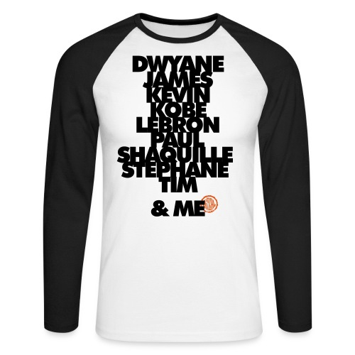 My 2k team and Me - T-shirt baseball manches longues Homme