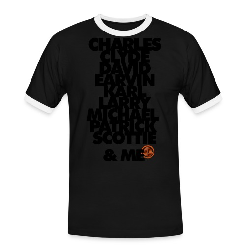 My 90s team and Me - T-shirt contrasté Homme