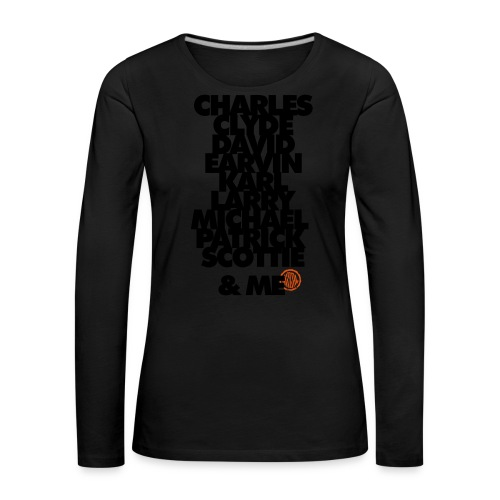 My 90s team and Me - T-shirt manches longues Premium Femme