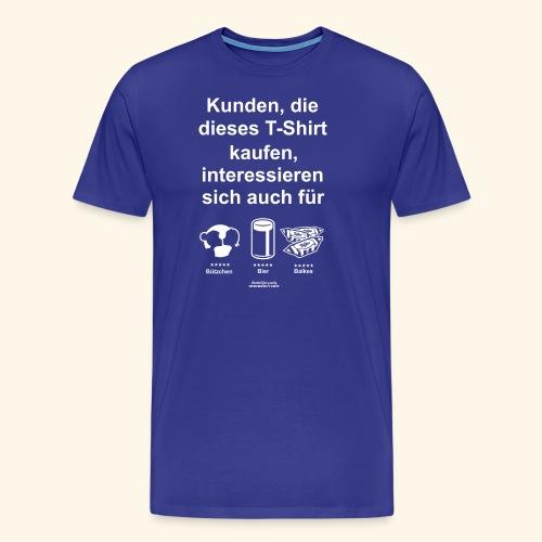Karneval T Shirt Düsseldorf | Bier, Bützchen & Co. - Männer Premium T-Shirt