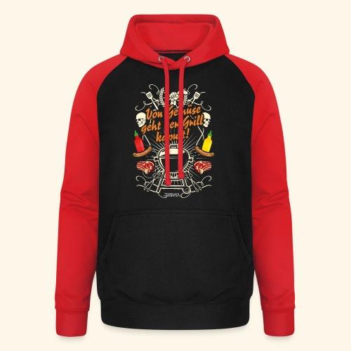 Grill T Shirt Spruch für Griller - Unisex Baseball Hoodie