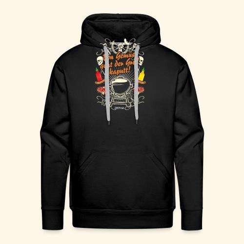 Grill T Shirt Spruch für Griller - Männer Premium Hoodie