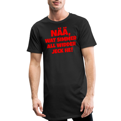 Nää, wat simmer all widder jeck he (Rot) Köln Kölner Karneval - Männer Urban Longshirt
