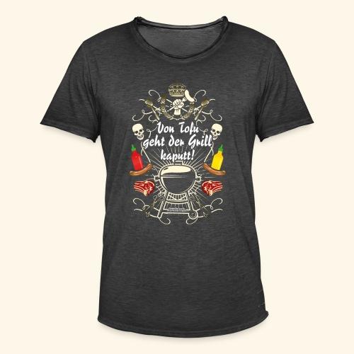 Grill T Shirt Spruch für Griller - Männer Vintage T-Shirt