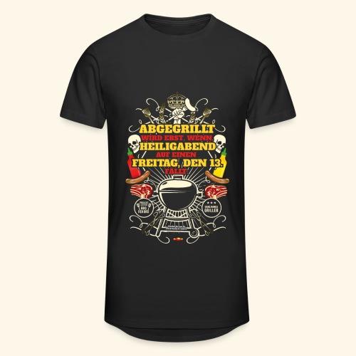 Grill T Shirt Spruch für Griller - Männer Urban Longshirt