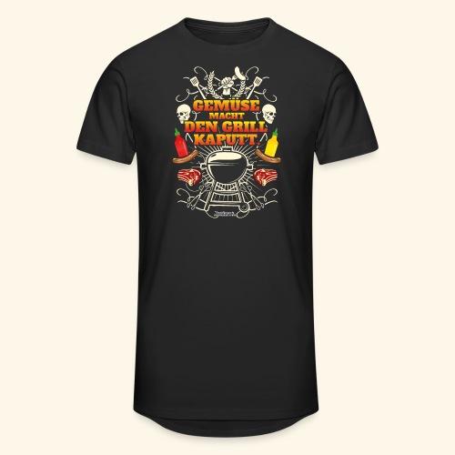 Grill T Shirt mit witzigem Spruch - Männer Urban Longshirt