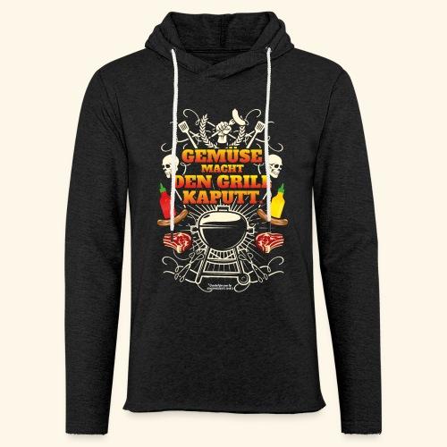 Grill T Shirt mit witzigem Spruch - Leichtes Kapuzensweatshirt Unisex