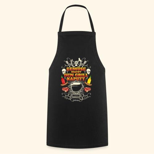 Grill T Shirt mit witzigem Spruch - Kochschürze