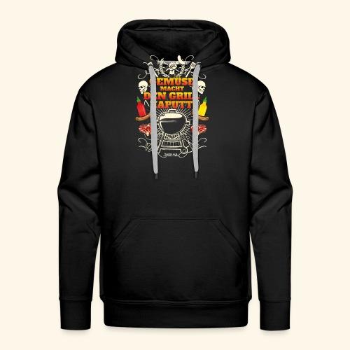Grill T Shirt mit witzigem Spruch - Männer Premium Hoodie