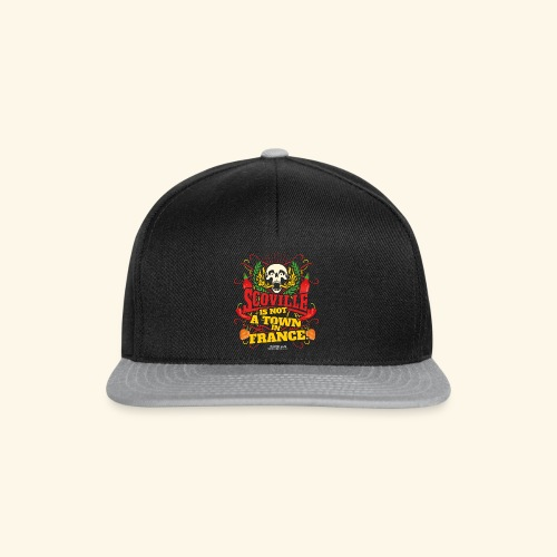Chili T Shirt Scoville Is Not A Town In France - Snapback Cap
