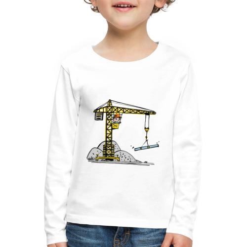 Krahn - Kinder Premium Langarmshirt