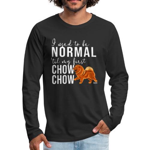 Miesten premium pitkähihainen t-paita