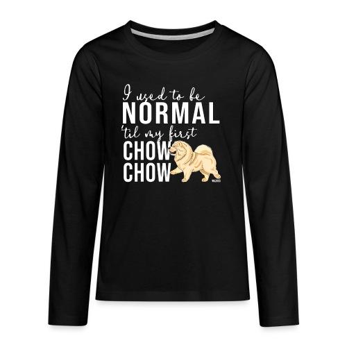 Teinien premium pitkähihainen t-paita