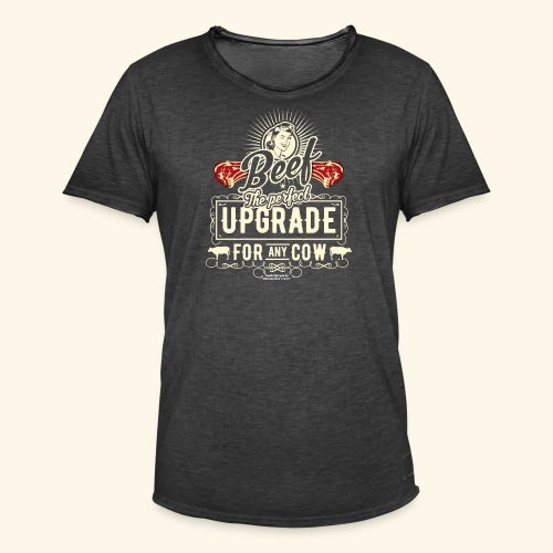 Lustiges Grill T Shirt Beef Is The Perfect Update  - Männer Vintage T-Shirt