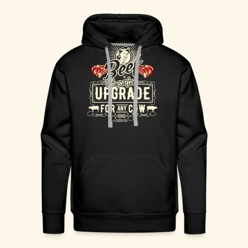 Lustiges Grill T Shirt Beef Is The Perfect Update  - Männer Premium Hoodie