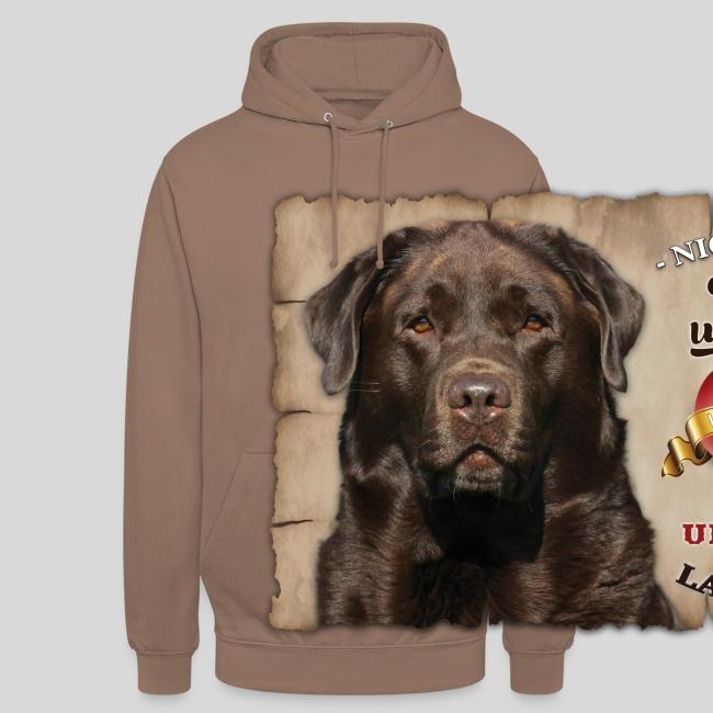 Chocolate Labrador Retriever Liebe & Treue