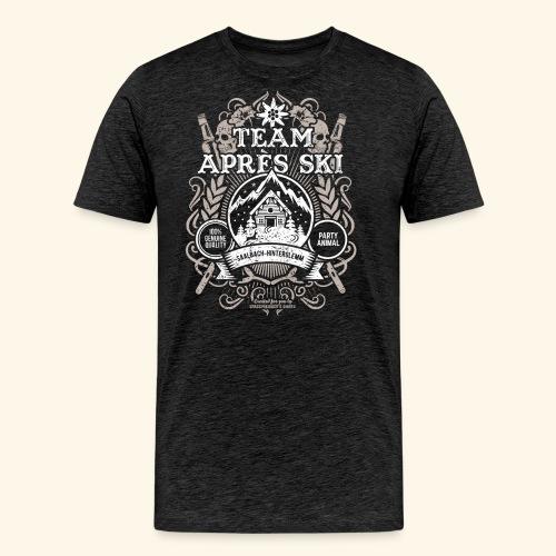Saalbach-Hinterglemm T Shirts| Apres Ski | Party - Männer Premium T-Shirt