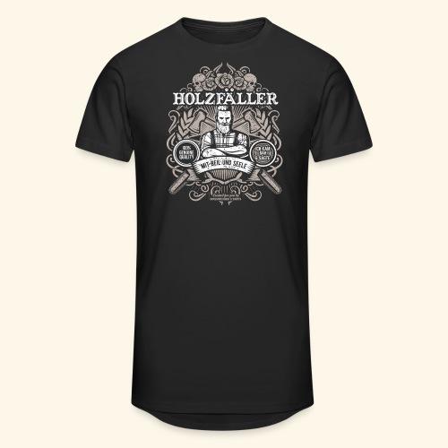 Holzfäller T Shirt - Männer Urban Longshirt