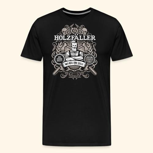Holzfäller T Shirt - Männer Premium T-Shirt