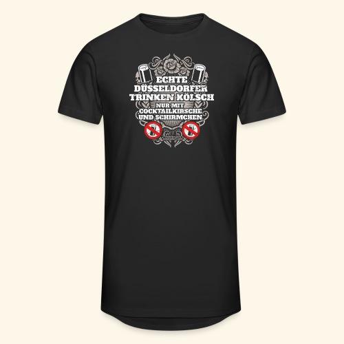 Düsseldorf T Shirt Spruch Echte Düsseldorfer T-Shirts - Männer Urban Longshirt