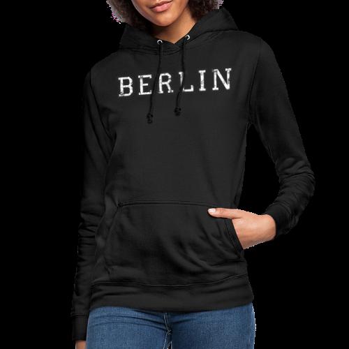 Berlin Vintage (Schwarz/Weiß) - Frauen Hoodie