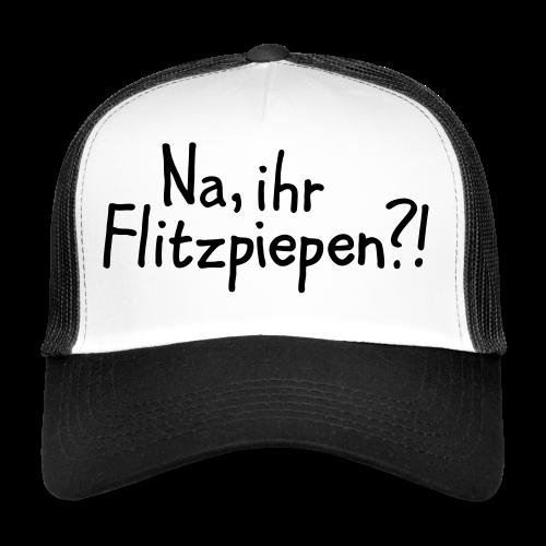 Na, ihr Flitzpiepen?! Witziger Berlin Spruch - Trucker Cap