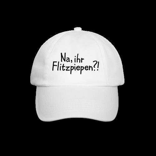 Na, ihr Flitzpiepen?! Witziger Berlin Spruch - Baseballkappe