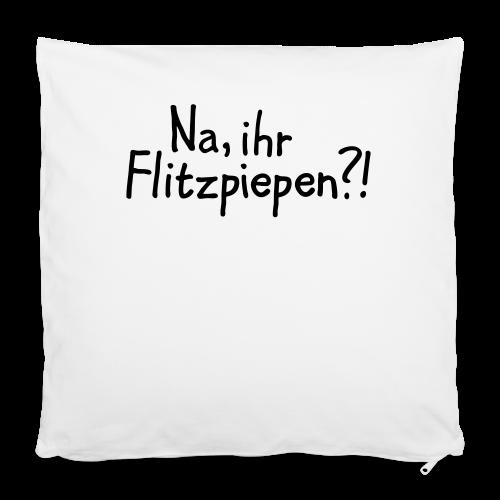 Na, ihr Flitzpiepen?! Witziger Berlin Spruch - Kissenbezug 40 x 40 cm