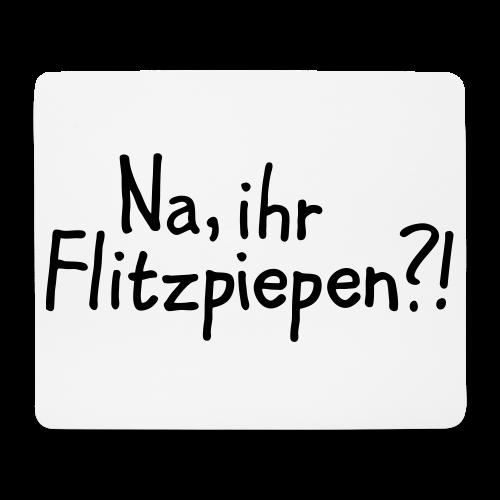 Na, ihr Flitzpiepen?! Witziger Berlin Spruch - Mousepad (Querformat)