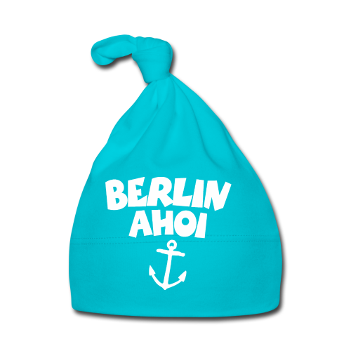 Berlin Ahoi Anker (Weiß) Boot&Segel Design - Baby Mütze