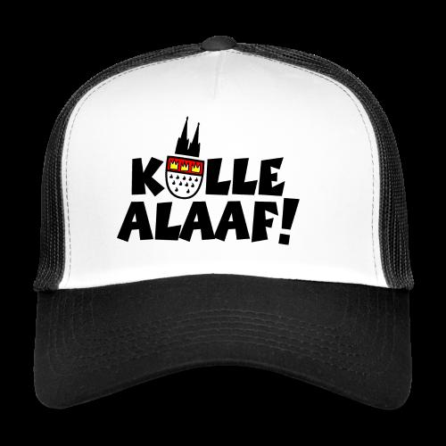 Kölle Alaaf Kölner Wappen Karneval in Köln  - Trucker Cap