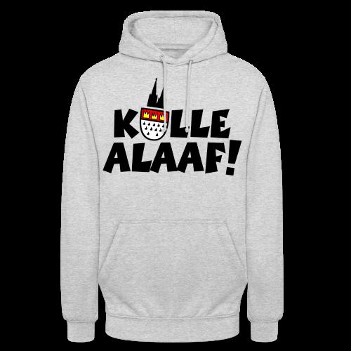 Kölle Alaaf Kölner Wappen Karneval in Köln  - Unisex Hoodie