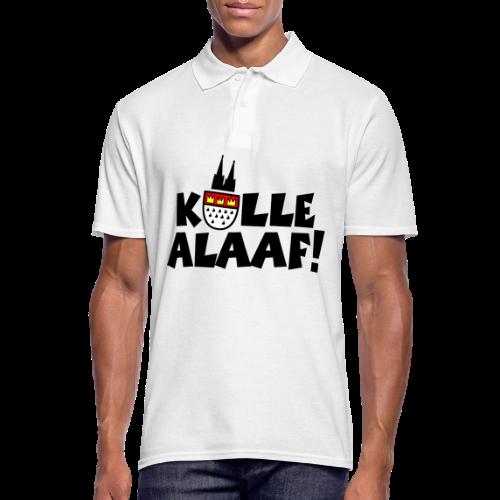 Kölle Alaaf Kölner Wappen Karneval in Köln  - Männer Poloshirt