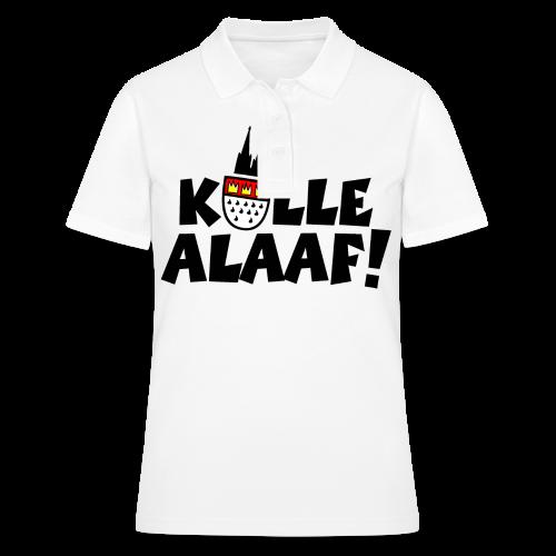 Kölle Alaaf Kölner Wappen Karneval in Köln  - Frauen Polo Shirt