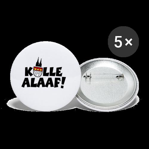 Kölle Alaaf Kölner Wappen Karneval in Köln  - Buttons klein 25 mm (5er Pack)
