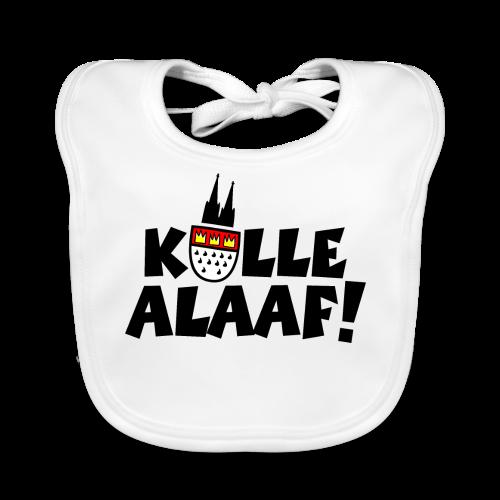 Kölle Alaaf Kölner Wappen Karneval in Köln  - Baby Bio-Lätzchen
