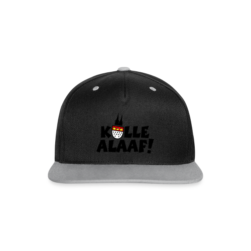 Kölle Alaaf Kölner Wappen Karneval in Köln  - Kontrast Snapback Cap