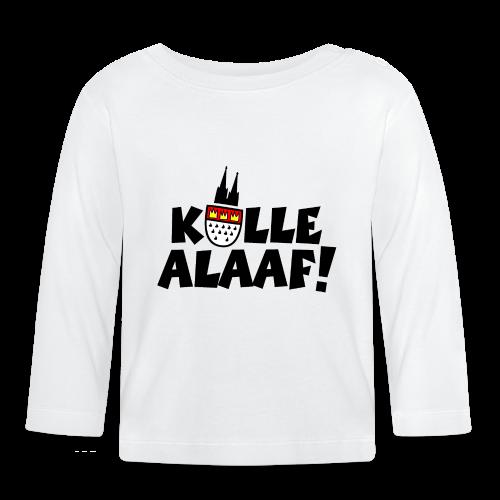 Kölle Alaaf Kölner Wappen Karneval in Köln  - Baby Langarmshirt