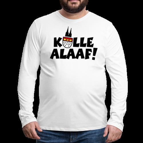 Kölle Alaaf Kölner Wappen Karneval in Köln  - Männer Premium Langarmshirt