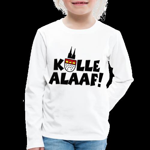 Kölle Alaaf Kölner Wappen Karneval in Köln  - Kinder Premium Langarmshirt
