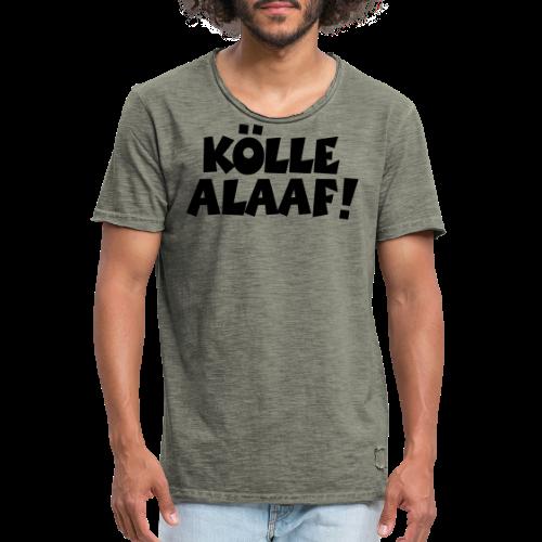 Kölle Alaaf (Weiß) Köln Kölner Karneval - Männer Vintage T-Shirt