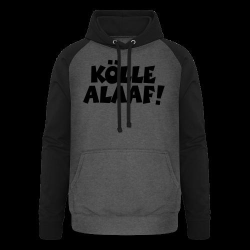 Kölle Alaaf (Weiß) Köln Kölner Karneval - Unisex Baseball Hoodie