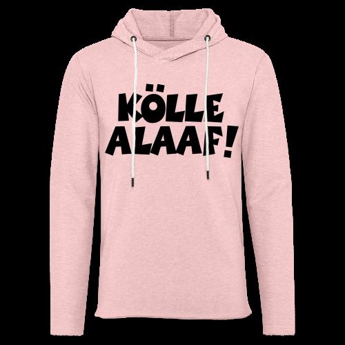 Kölle Alaaf (Weiß) Köln Kölner Karneval - Leichtes Kapuzensweatshirt Unisex