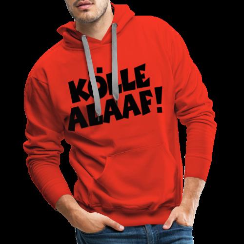 Kölle Alaaf (Weiß) Köln Kölner Karneval - Männer Premium Hoodie