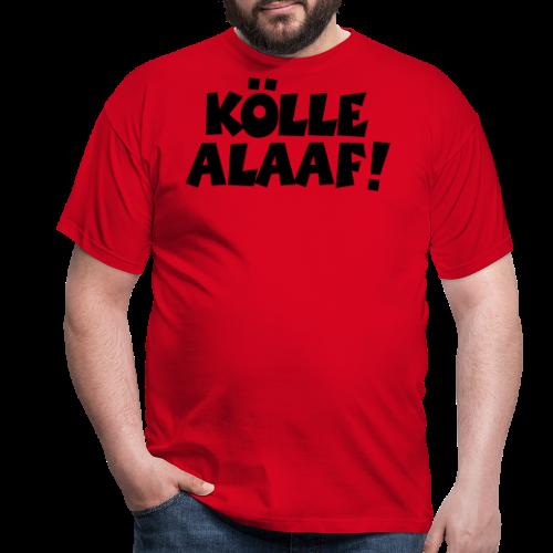 Kölle Alaaf (Weiß) Köln Kölner Karneval - Männer T-Shirt